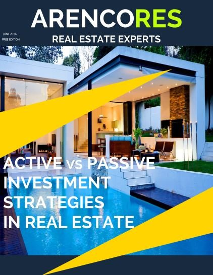 ACTIVE VS PASSIVE INVESTMENT STRATEGIES IN REAL ESTATE