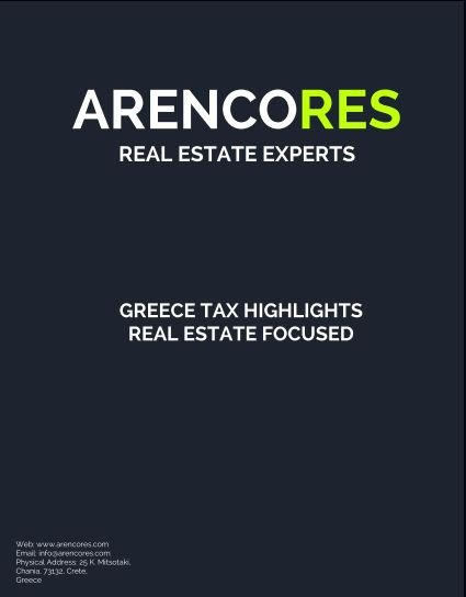 Greece Tax Highlights - Real Estate Focused