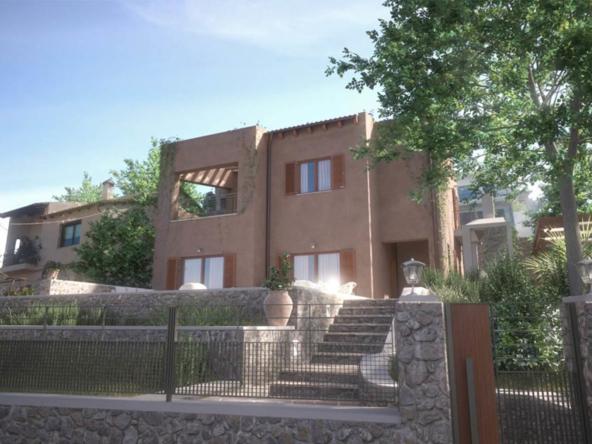 Unfinished villa for sale in Neo Chorio, Apokoronas, Chania