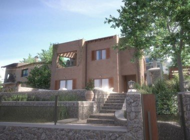 Unfinished villa for sale in Neo Chorio, Apokoronas, Chania