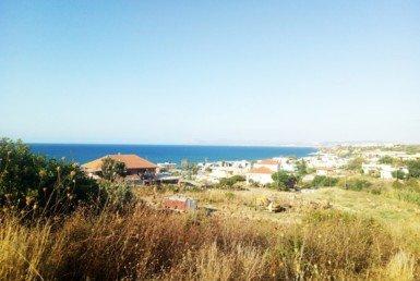 Stalos land for sale near Chania, Crete