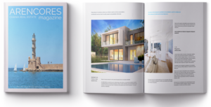 Chania real estate magazine for property buyers and investors