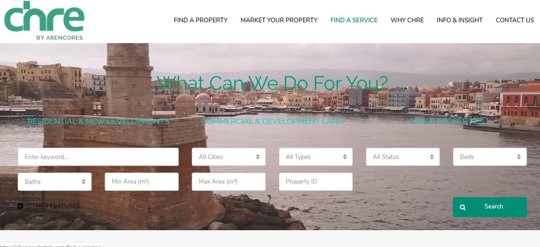 Chania Real Estate by ARENCORES