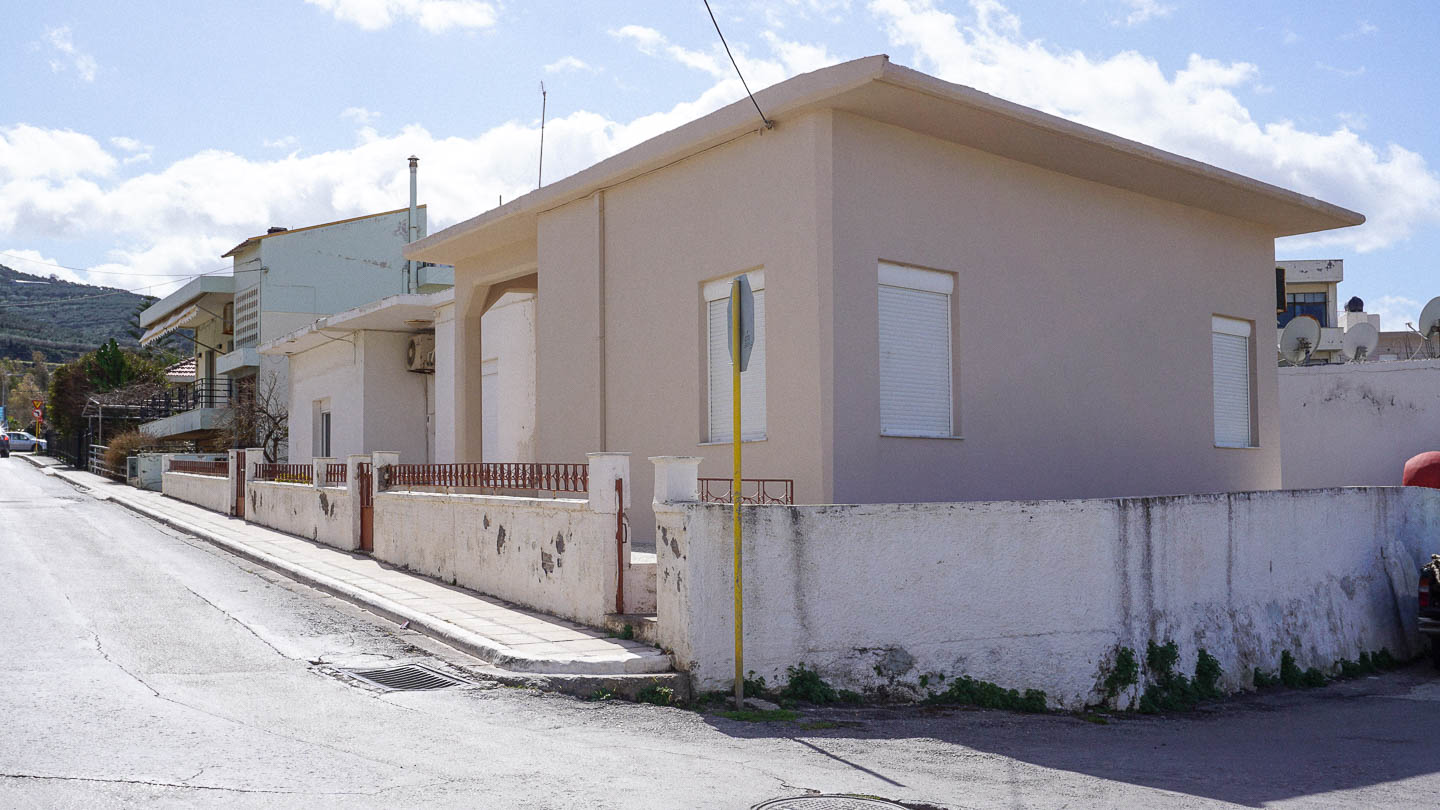 Two Houses Centrally Located in Kasteli, Kissamos