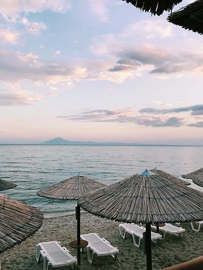 Chrissi Akti Beach - Living in Chania Property Guide