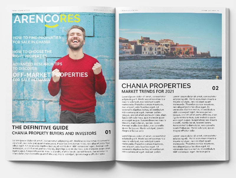 Properties for sale in Chania, the Definitive Guide by ARENCORES