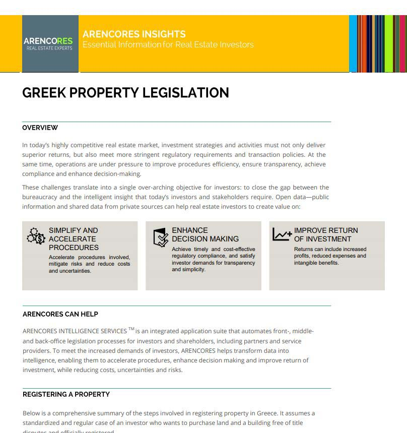 Greece Property Law Guide