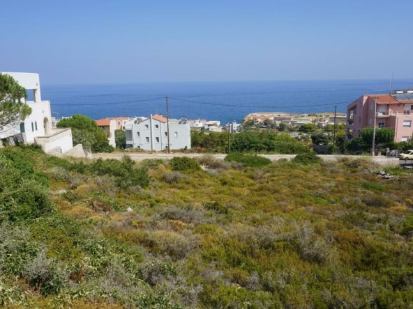 Koumbelis Plot for Sale - A wonderful property for your vacation house in Chania, Crete